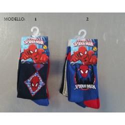Tris di Calzini Spiderman 2 fantasie