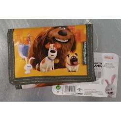 Portafoglio Velcro. PETS - Vita da animali