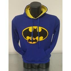 Felpa Blu Uomo Batman