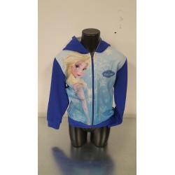 Felpa manica lunga di Frozen con Elsa Blu o Grigia
