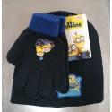 Cappello + Guanti Minions. Monocolore