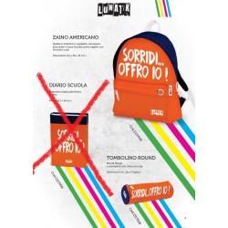 ZAINO AMERICANO + ASTUCCIO– LUNATIK – SORRIDI...OFFRO IO!